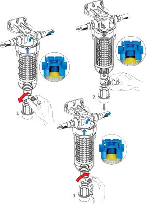 Regeneracja wkładu Atlas Filtri Hydra